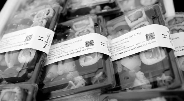 Hildring sushi sort hvit2
