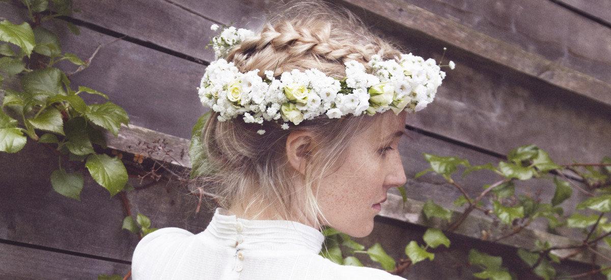 Artist/modell: Malin Pettersen, Foto: Julie Pike, produkter fra Mester Grønn