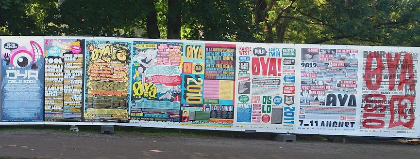 Plakatvegg