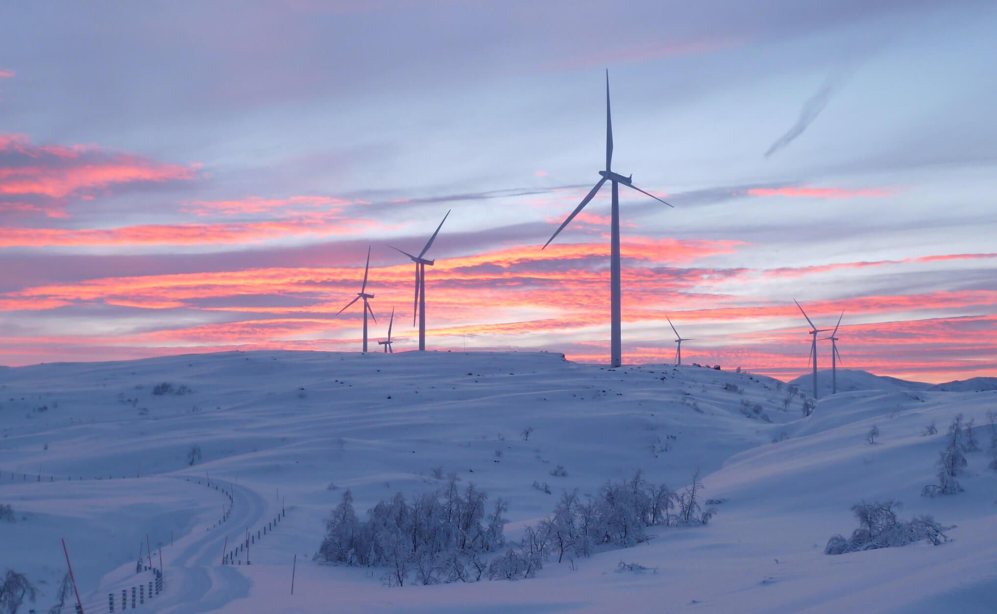 Vindkraft på Nygårdsfjellet i Narvik