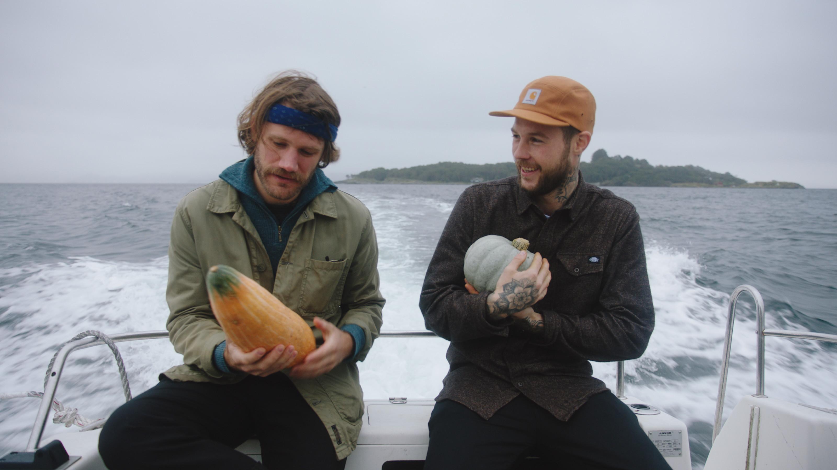 Jakten på Øyamenyen Vidar Landa Jimmy Øien