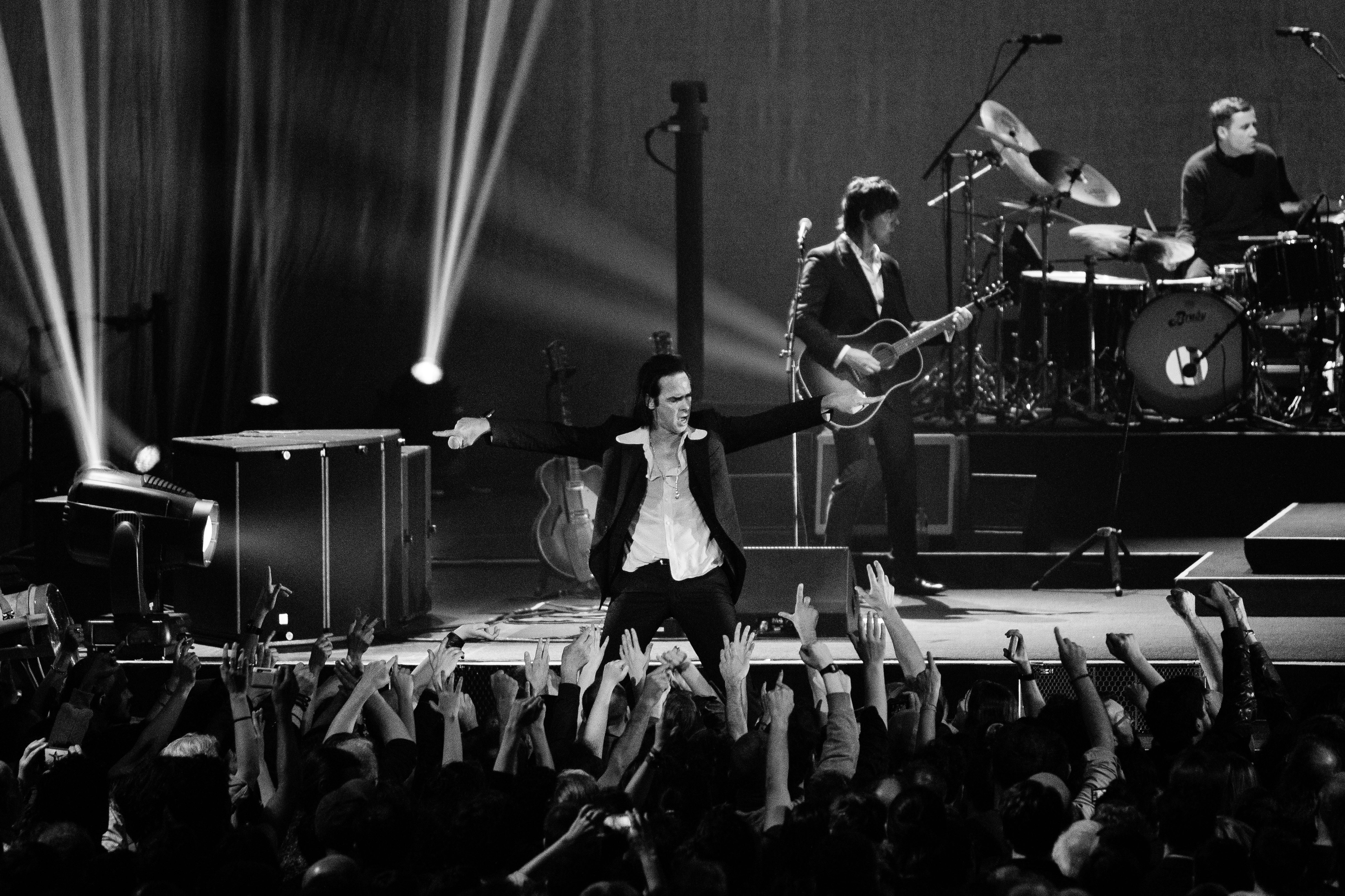 Nick Cave & The Bad Seeds by Jason Williamsonbw